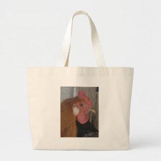 キンボウゲのオンドリ ラージトートバッグ