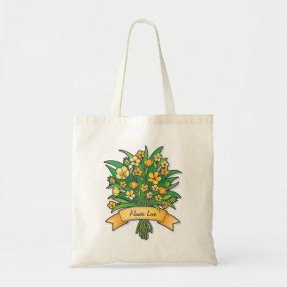 キンボウゲの花束のバッグ トートバッグ