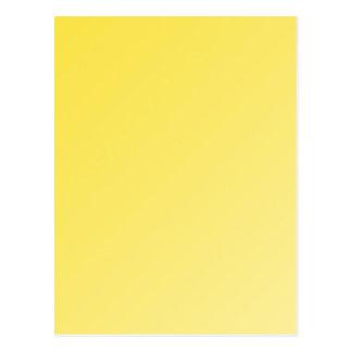 キンボウゲの黄色い勾配の挨拶状 ポストカード