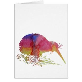 キーウィの鳥 カード