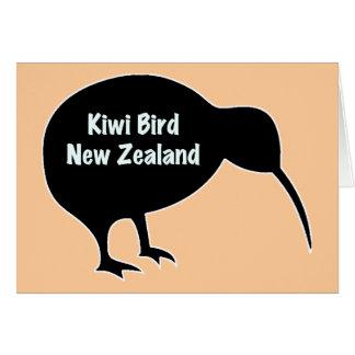 キーウィの鳥-ニュージーランド カード