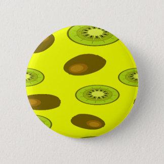 キーウィフルーツパターン 缶バッジ