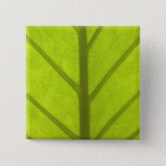 """""""キーウィライフスタイル""""の-裏庭Slice#1 5.1cm 正方形バッジ"""