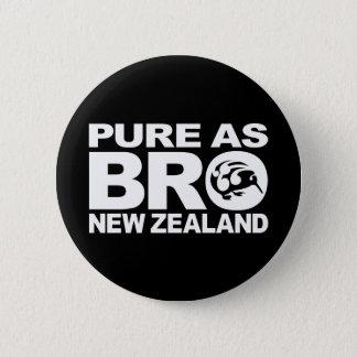 キーウィ、純粋なニュージーランド 缶バッジ