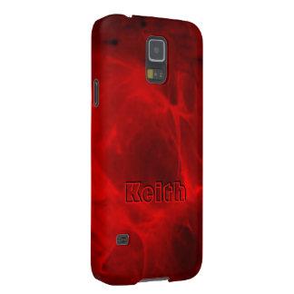 キースのための完全で赤いSamsungの銀河系S5の箱 Galaxy S5 ケース