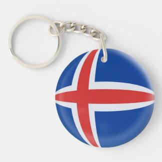 キーホルダーのアイスランドのアイスランド人の旗 キーホルダー