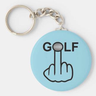 キーホルダーのゴルフフリップ キーホルダー