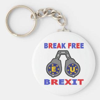 キーホルダーの壊れ目はBrexitを放します キーホルダー