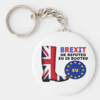 キーホルダーのBrexitイギリスによって論駁されるEUは追い出されます キーホルダー