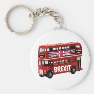 キーホルダーのBrexitバス キーホルダー