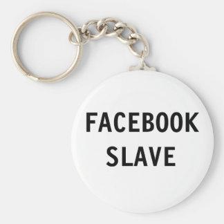 キーホルダーのFacebookの奴隷 キーホルダー
