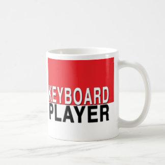 キーボードプレーヤーのマグ コーヒーマグカップ