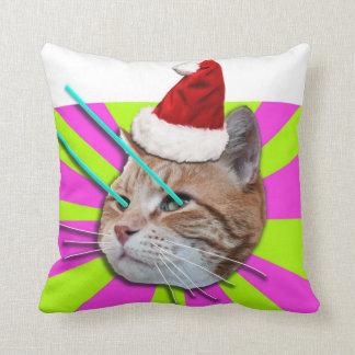 キーボード猫のブギウギのChriostmasの枕 クッション