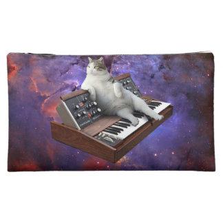 キーボード猫-猫のミーム-熱狂するな猫 コスメティックバッグ
