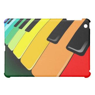 キーボード音楽パーティー色 iPad MINI カバー