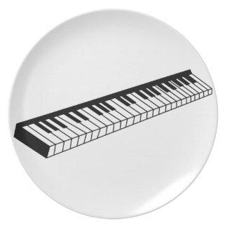 キーボード ディナー皿