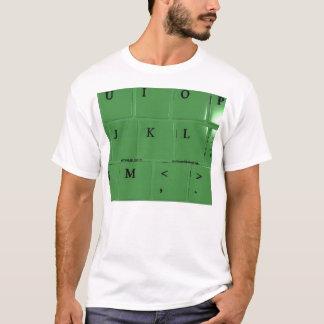 キーボード(前部) Tシャツ