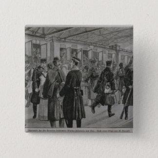 キールの王室のな海兵隊員の配置 5.1CM 正方形バッジ