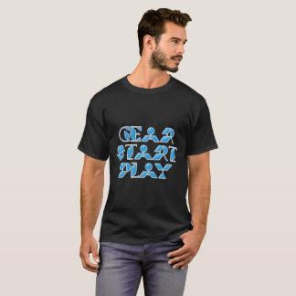 ギアの開始の演劇 Tシャツ