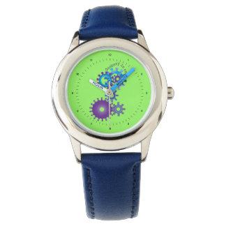 ギアは子供へを見ます 腕時計