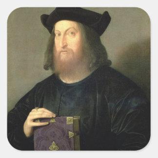 ギアンジョルジョTrissino (1478-1550年)のポートレート(油 スクエアシール