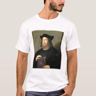 ギアンジョルジョTrissino (1478-1550年)のポートレート(油 Tシャツ