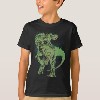 ギガノトサウルスの暗闇のTシャツ Tシャツ
