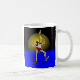 ギタリストのためのカスタムなコーヒー・マグ コーヒーマグカップ