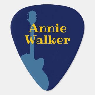 ギタリストの名前のクールなGrover_Allmanのギターの一突き ギターピック