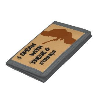 ギタリストの声の財布