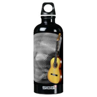 ギターおよび音楽シート ウォーターボトル