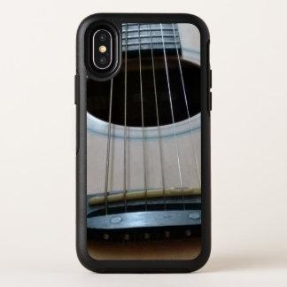 ギターのイメージの背部が付いているIphoneXのotterboxの場合 オッターボックスシンメトリー iPhone X ケース