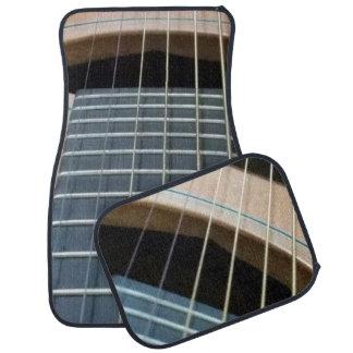ギターのイメージの車のマット(4)の置いて下さい カーマット
