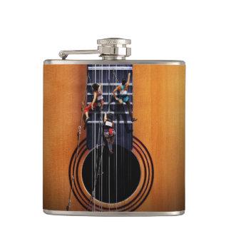 ギターのクライマーのフラスコ フラスク