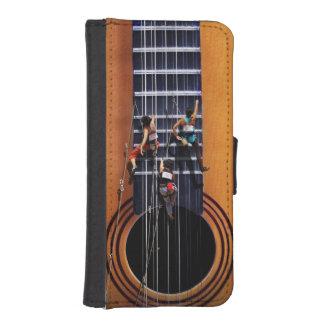 ギターのクライマーのiPhone 5/5sのウォレットケース iPhoneSE/5/5sウォレットケース