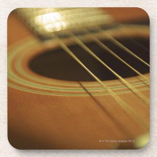 ギターのクローズアップ コースター