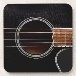 ギターのデザインのコースター コースター