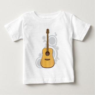 ギターのベビーのワイシャツ ベビーTシャツ