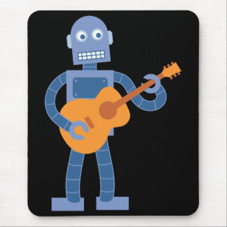 ギターのロボット マウスパッド