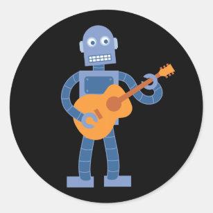 ギターのロボット ラウンドシール