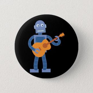ギターのロボット 缶バッジ