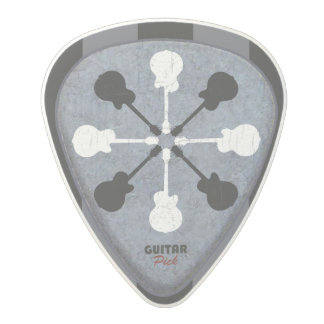 ギターの一突き ポリカーボネートギターピック