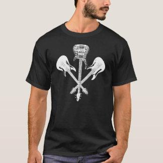 ギターの三位一体丁寧に微笑 Tシャツ