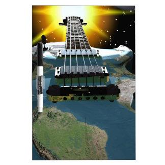 ギターの世界 ホワイトボード