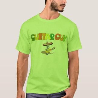 ギターの人 Tシャツ
