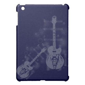 ギターの写実的で青いiPad Miniケース iPad Miniケース