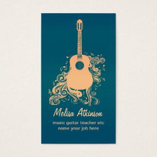 ギターの名刺 名刺