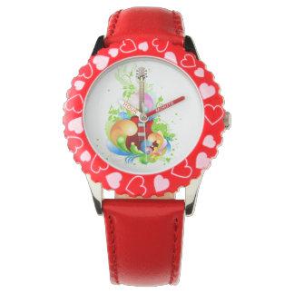 ギターの子供の腕時計 腕時計