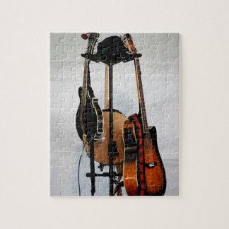 ギターの楽器 ジグソーパズル
