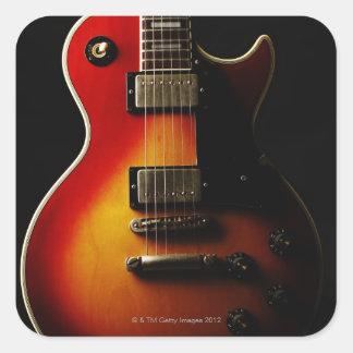 ギターの楽器 スクエアシール
